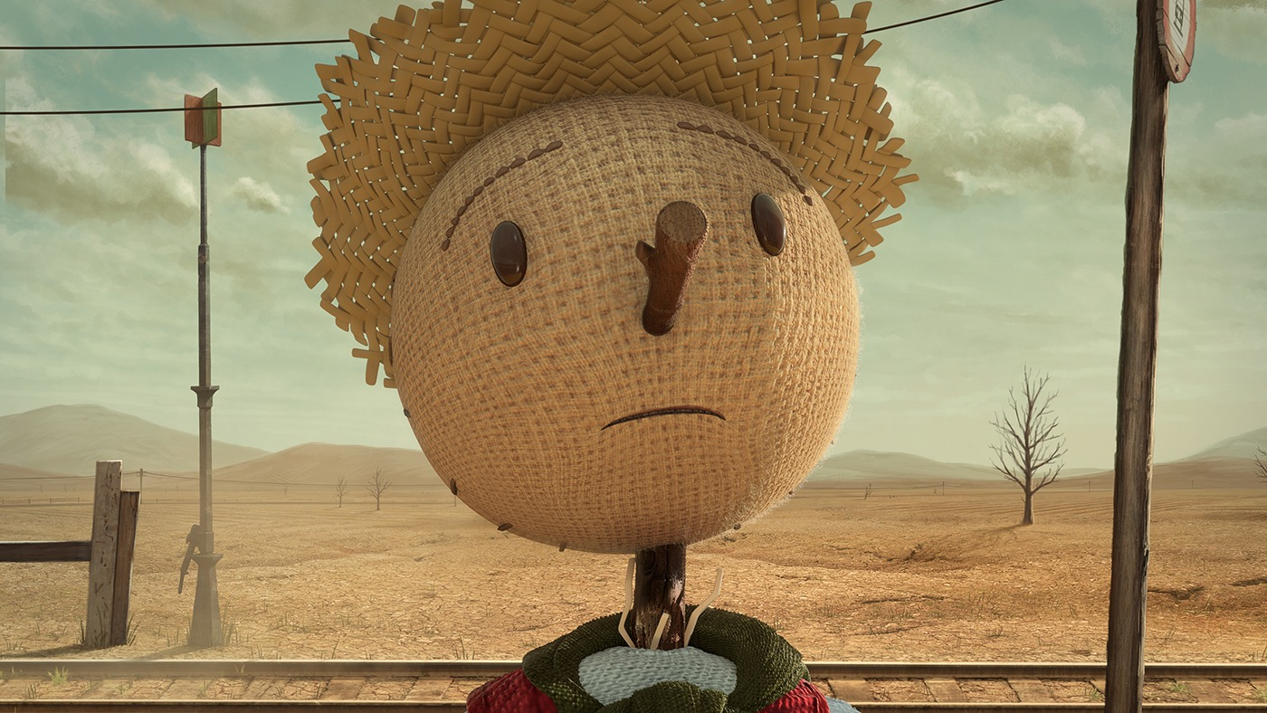 Still from Chipotle Scarecrow ad