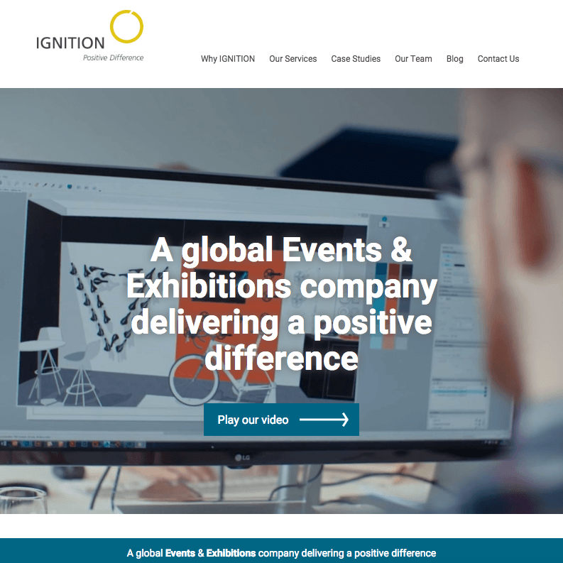 Ignition DG website - Cecilia Unlimited case study