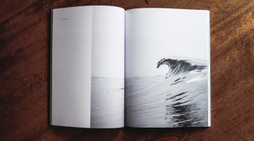book with a wave on the page to illustrate post on using stories in your innovation process by Cecilia Unlimited