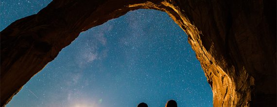 people looking at the stars - Cecilia Unlimited newsletter